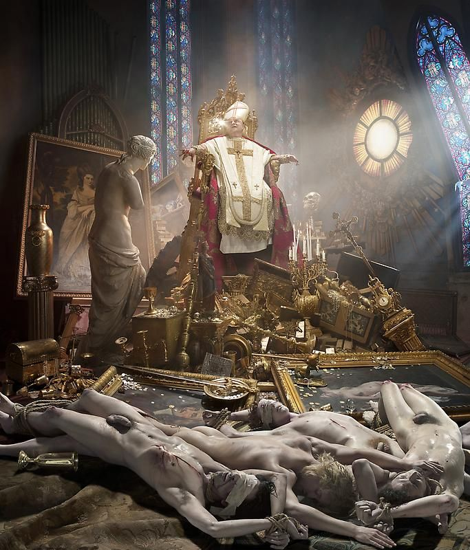 """Thy Kingdom Come,"" by David LaChapelle. Predictable? Sure. But still great."