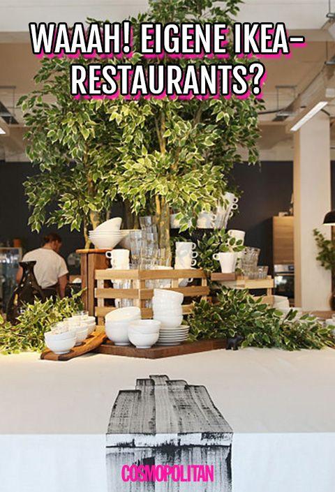 Ausrasten ist angesagt! Angeblich plant Ikea eine eigene Restaurantkette...