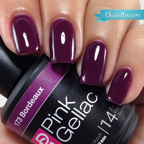#173 Pink Gellac Bordeaux :: Gel Colors :: Chickettes Boutique