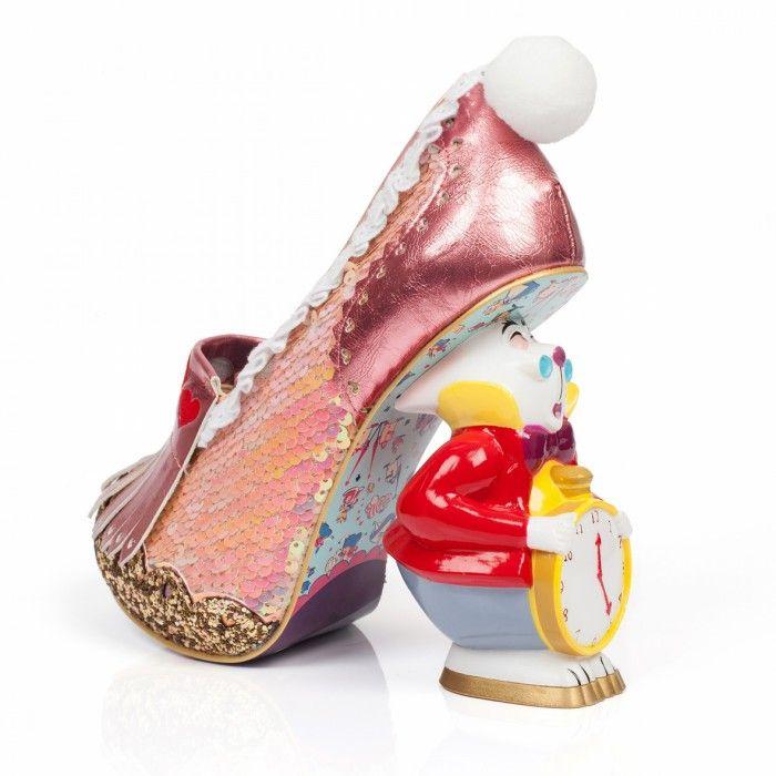 Candy Damsel, Baskets Hautes Femme (Gold/Pink C), 36 EUIrregular Choice