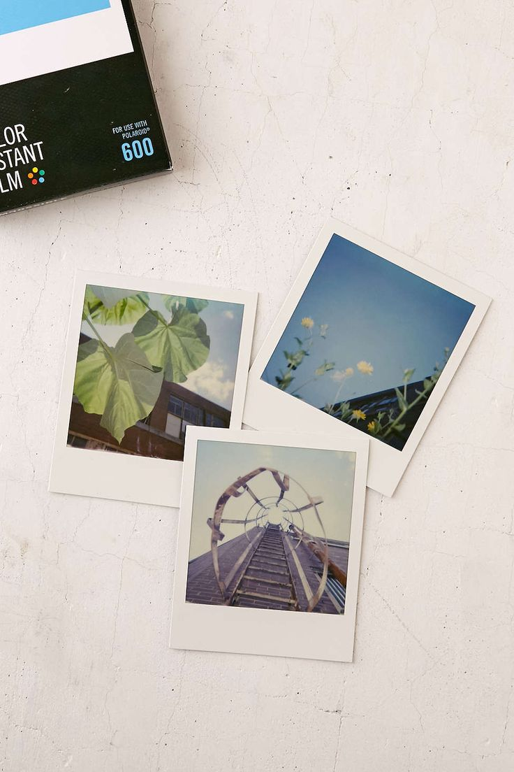 Impossible Multicolor Polaroid 600 Instant Film - Urban Outfitters