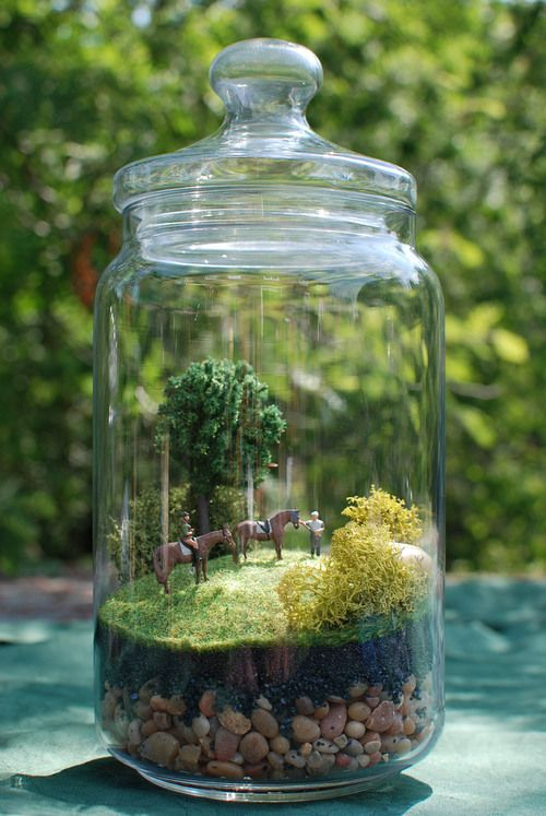 Terrarium creations at Verdantica