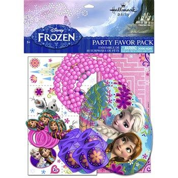 Cool Party Supplies Disney Frozen Party Favor Value Pack just added...