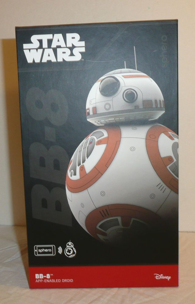 Star Wars The Force Awakens Sphero BB-8 BB8 App Enabled Droid Disney New Sealed