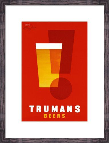 Trumans Beers by Abram Games - art print from King
