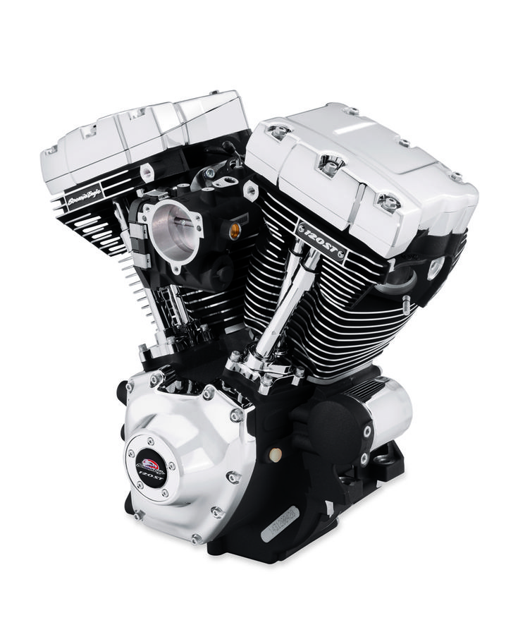 SCREAMIN' EAGLE 120ST CRATE MOTOR DELIVERS EXTREME BAGGER POWER