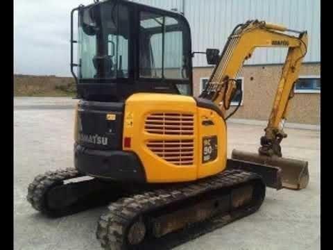 Komatsu PC50MR-2 Hydraulic Excavator Workshop Service Repair