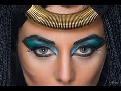 Maquillaje Egipcia.Tutorial Paso a Paso - YouTube