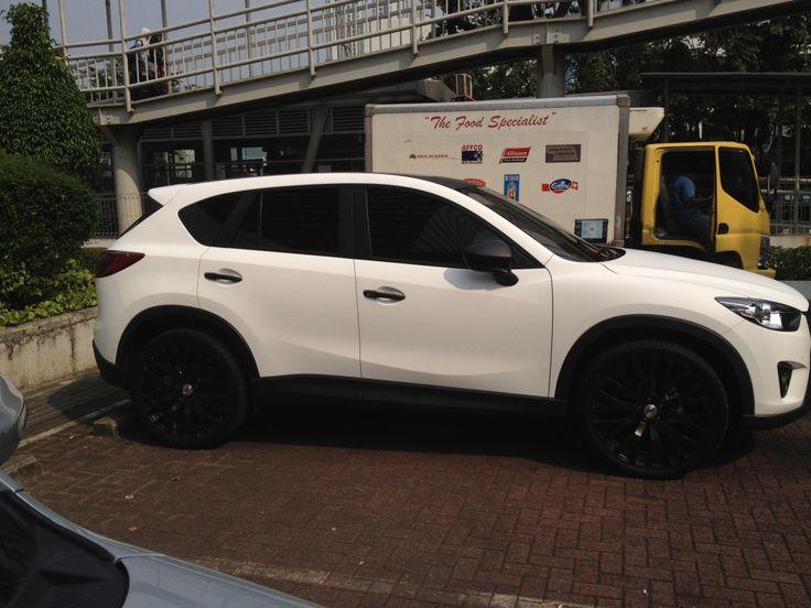 Matte White CX5 (With images) Mazda cx5, Mazda wheels
