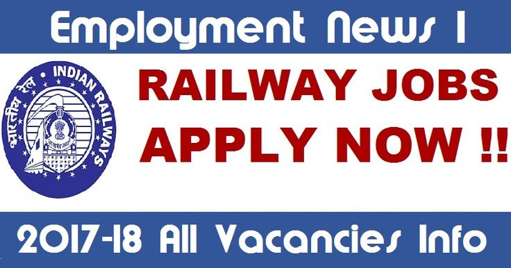 Right Way to Get Railway Jobs Information -  Employment News I makes their users ready for anything related to latest & upcoming railway jobs & competition what may helpful for their career future. With a clear focus and prescription goggles, she never loses sight of the goal. Even it updates about the railway vacancies before the releasing date for helping manners to know about railway jobs to the users. To know more about it, you should directly visit latest railway jobs website.