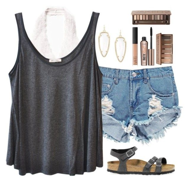 """""""My taglist Please join (cmt) it looks pretty lonely"""" by texas-preppy ❤ liked on Polyvore featuring Kendra Scott, Boohoo, Free People, American Vintage, Birkenstock, NARS Cosmetics, Benefit, Urban Decay, women's clothing and women"""