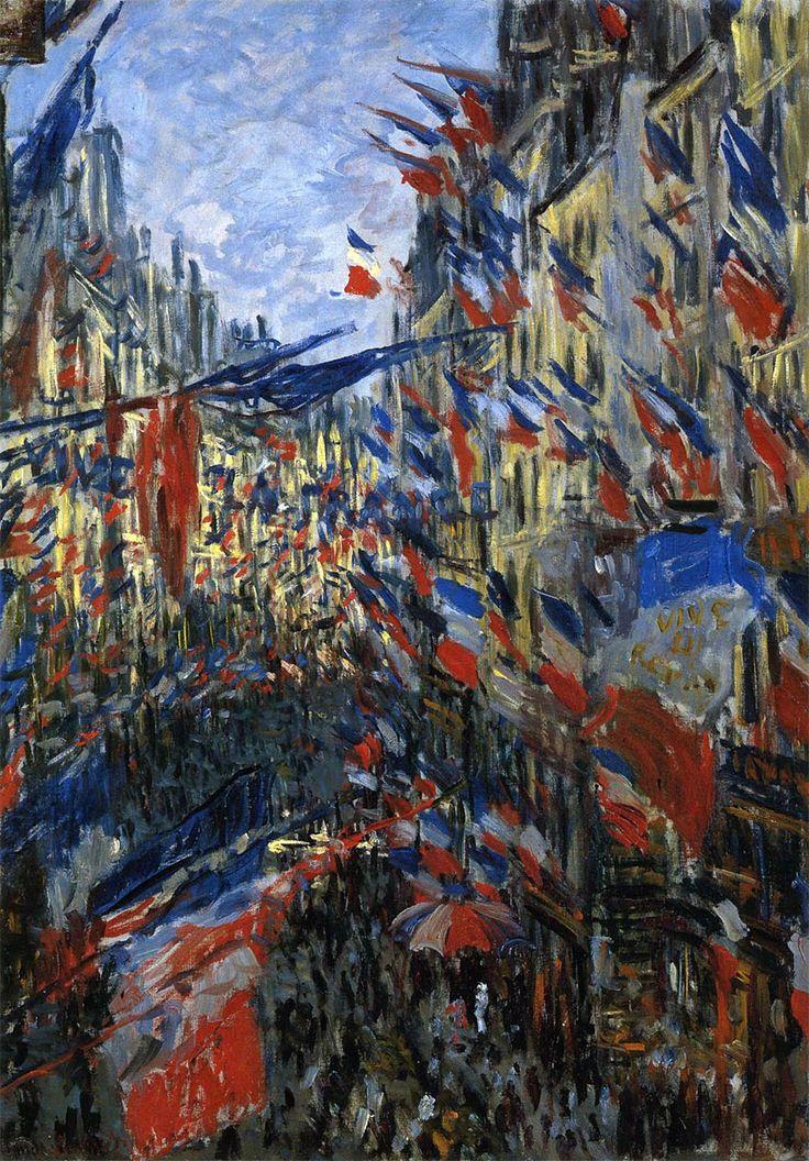 クロード・モネ「サン=ドニ街、1878年6月30日の祝日」