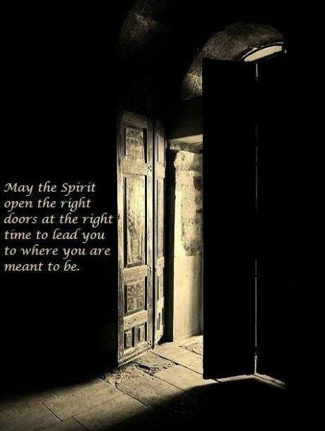 Open Doors & Shutting Spiritual Doors \u0026 An Open Door