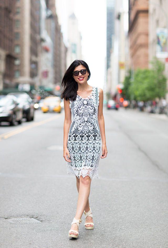 Editor's Style: Dobrina Zhekova's Crochet Dress
