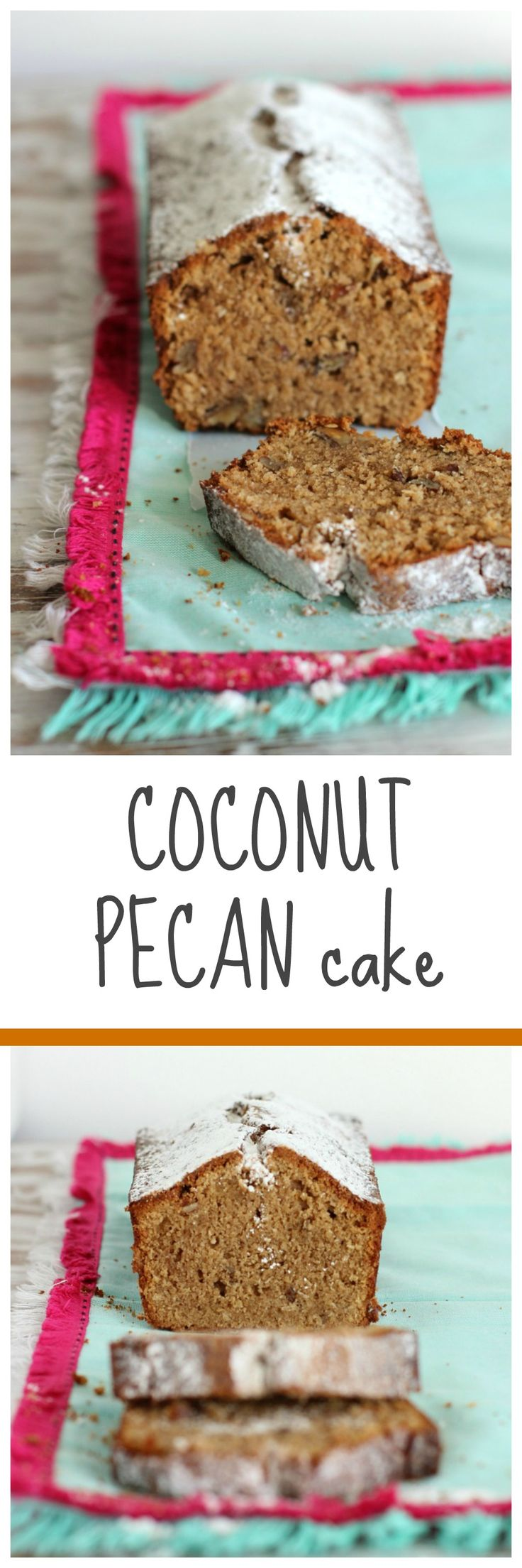 COCONUT PECAN CAKE, easy to make and full of flavor. Coconut and pecans are a perfect match, and this cake has an amazing texture.