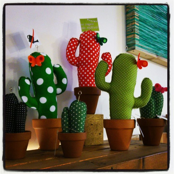 Felt Cactus Inspiration *No instructions available.
