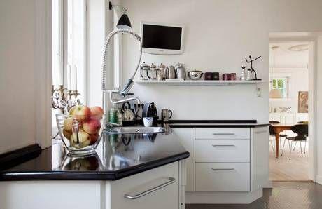 Una casa renovada a las afueras de Copenhague - La casa de Freja