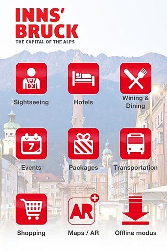 Innsbruck Mobile: die Hauptstadt der Alpen in Ihrer Hand   Fotograf: Innsbruck Tourismus   Credit:Innsbruck Tourismus   Mehr Informationen und Bilddownload in voller Auflösung: http://www.ots.at/presseaussendung/OBS_20121120_OBS0001
