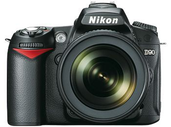 That's my DSLR camera, Nikon D90!