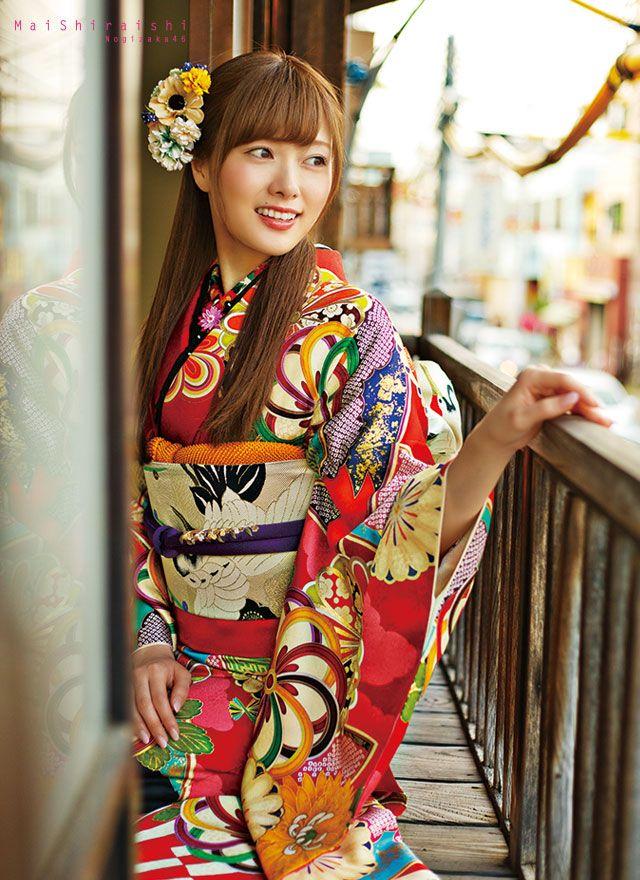 Shiraishi Mai   Nogizaka46 Shiraishi Mai Kimono   Kyoto Sweet Collection   Part 1