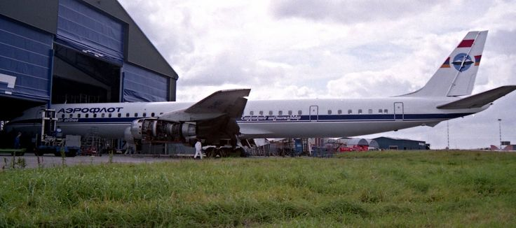 Armenian Airlines DC8