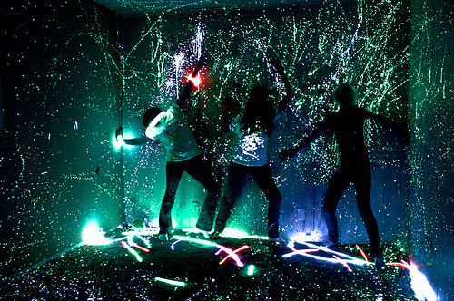 Splatter paint | Glow in the dark | Pinterest | What is ...