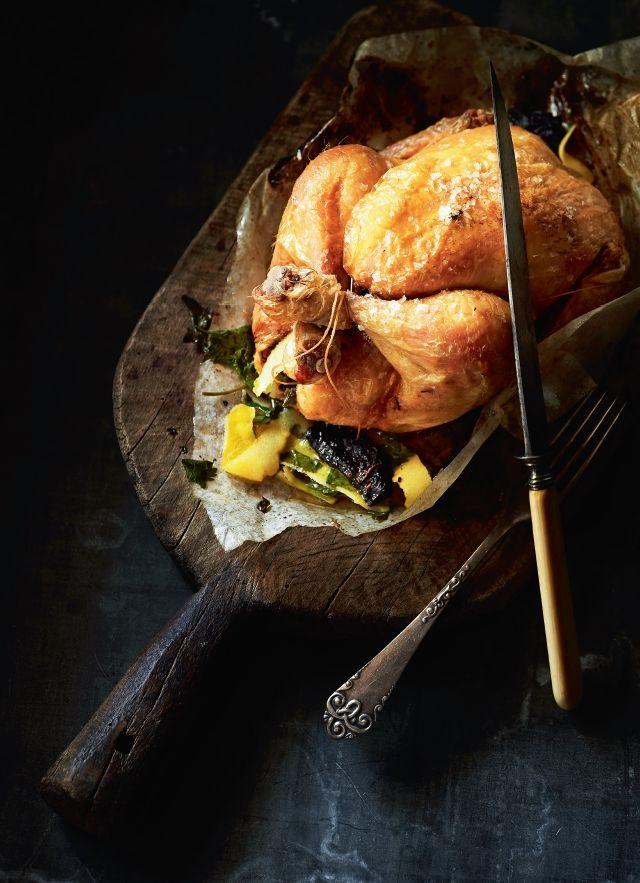 En ualmindelig velstegt kylling