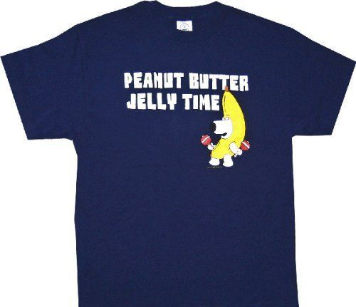 """It's Peanut Butter Jelly Time! Peanut Butter Jelly Time! The Buckwheat Boyz' smash hit Internet meme will instantly get stuck in the heads of everyone who sees you wearing this officially licensed """"""""F"""