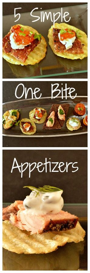 This is How I Cook: 5 Simple One Bite Appetizers