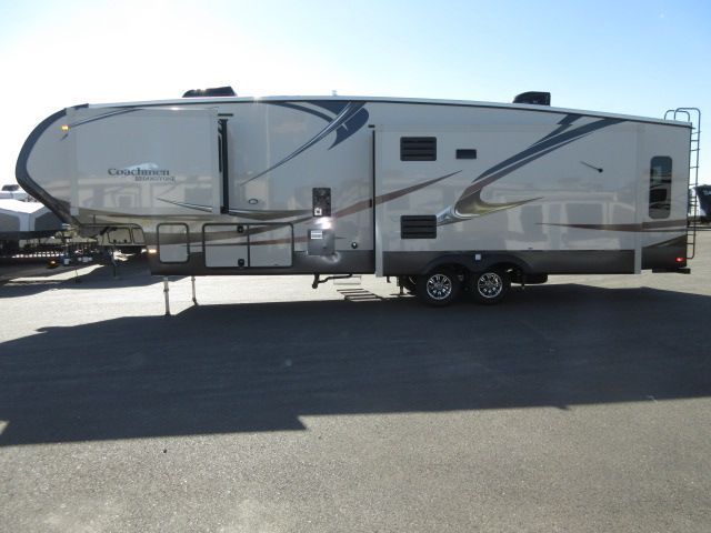 2016 New Coachmen BROOKSTONE 325RL THREE SLIDE OUTS/ Fifth Wheel in California CA.Recreational Vehicle, rv, 2016 Coachmen BROOKSTONE 325RL THREE SLIDE OUTS/, Interior Color: SAVANNAH, Water Capacity: 73, Number of AC Units: 2, Leveling Jack: 6 POINT ELECTRICAUTO LEVELING, Self-Contained: Yes, Number of Slideouts: 3, Cabinetry: Cherry, The following is a list of Additional Options besides the Standard Features come with the unit are:- 2016 BROOKSTONE 325RL SAVANNAH CHERRY INTERIOR WOOD GRAIN…