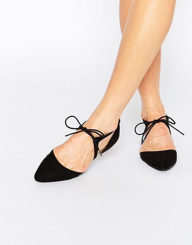 9 Black Flats That Are Dressy Enough For Work & Happy Hour