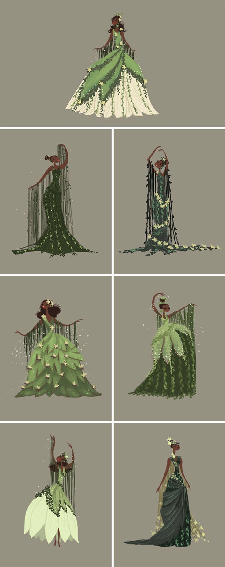 Costume Designs from The Princess and the Frog by Lorelay Bove