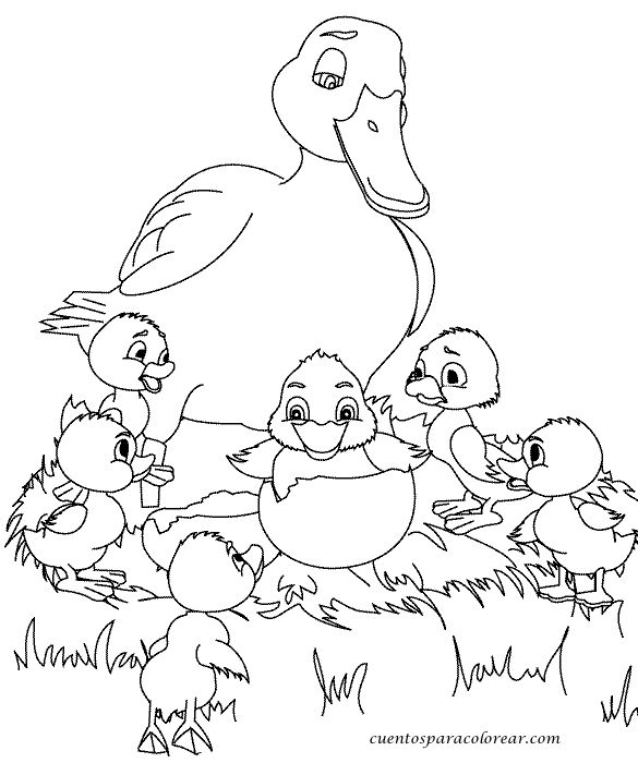 Escuela Infantil Castillo De Blanca Fichas Preescolar Patito Feo En 2021 Libro De Dinosaurios Para Colorear Paginas Para Colorear De Animales Libro De Colores
