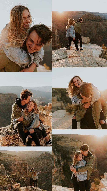 Grand Canyon Adventurous Couples/Engagement Session