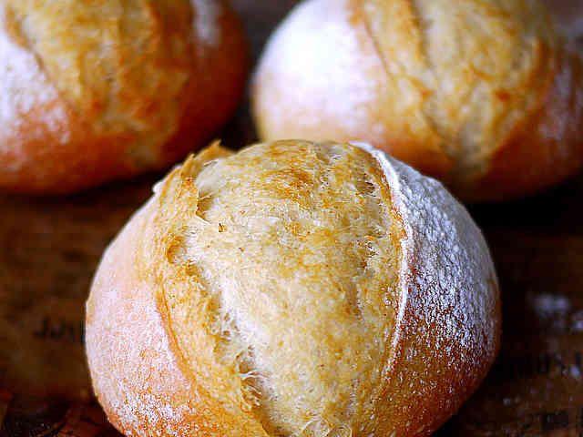 バター風味のフランスパン生地*HB手捏ねの画像