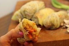 Podzimní kapustové závitky /Autumn cabbage rolls/ Bezlepkový a nízkosacharidový zdravý recept /Gluten free and low carb healthy recipe/