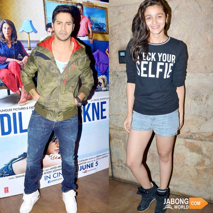 When it comes to 'being yourself', our young ‪#‎Bollywood‬ divas are the best ones at it! At the screening of Zoya Akhtar's upcoming film Dil Dhadakne Do starring Ranveer Singh, Anushka Sharma, Priyanka Chopra and Farhan akhtar as leads, heartthrobs Varun SURESH Dhawan & Alia Bhatt were seen in casual attires. What do you think about their look?