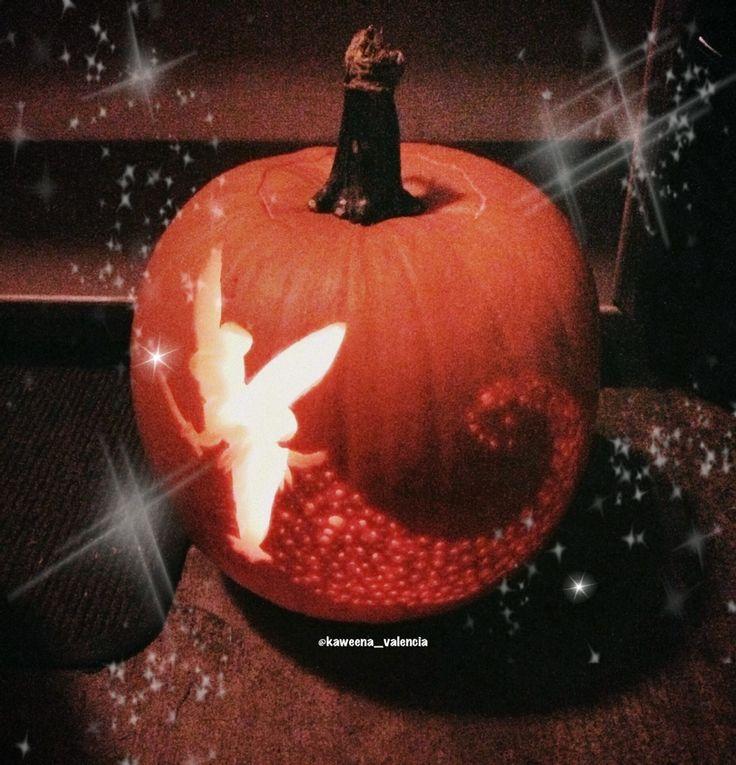 My tinkerbell pumpkin pumpkin carving ideas for How to carve tinkerbell in a pumpkin