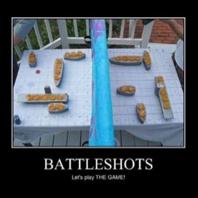 Genius! Drunk battleship!