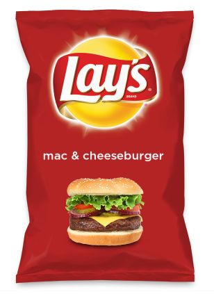 Wouldn't mac & cheeseburger be yummy as a chip? Lay's Do Us A Flavor is back, and the search is on for the yummiest flavor idea. Create a flavor, choose a chip and you could win $1 million! https://www.dousaflavor.com See Rules.