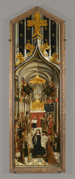 Le sacre de Louis XII Roi de France