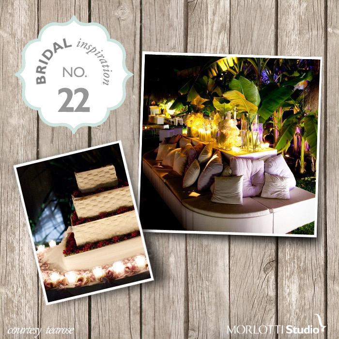 TeaRose- Bridal Inspiration n°22 - http://www.morlotti.com #wedding #matrimonio