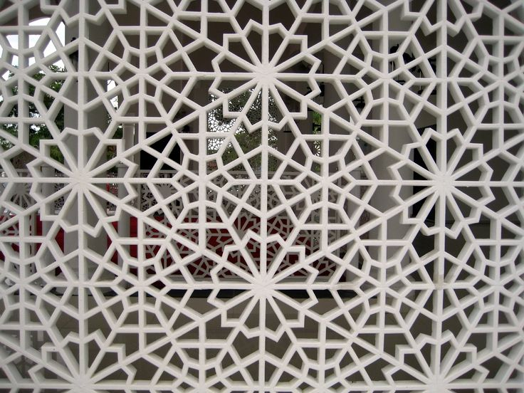 Zillij pattern fretwork