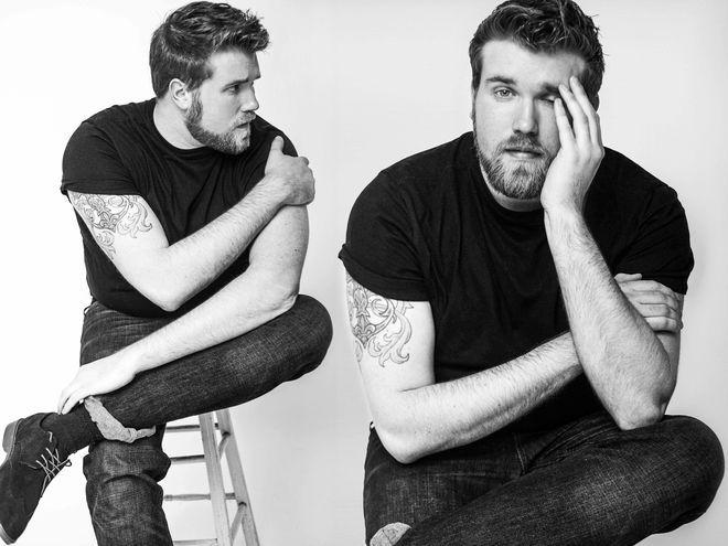 Zach Miko, das erste männliche Plus-Size-Model, verkörpert einen neuen Typ im Portfolio seiner Agentur IMG.