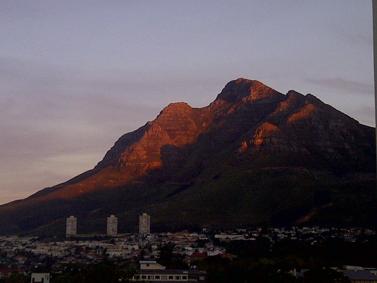 from signal hill, Cape Town