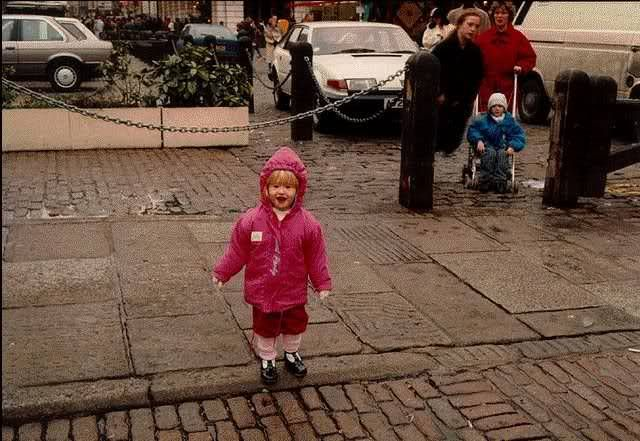 Photographed in 1989, the Covent Garden Ghost was captured on film by Mr. and Mrs Webb who had taken their two kids to the piazza for a day of adventure. Little did they know they'd capture one of the most famous ghost photos of all time. The mysterious legless woman in black has, to this day, never been identified.