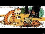 Calvin und Hobbes Wallpaper