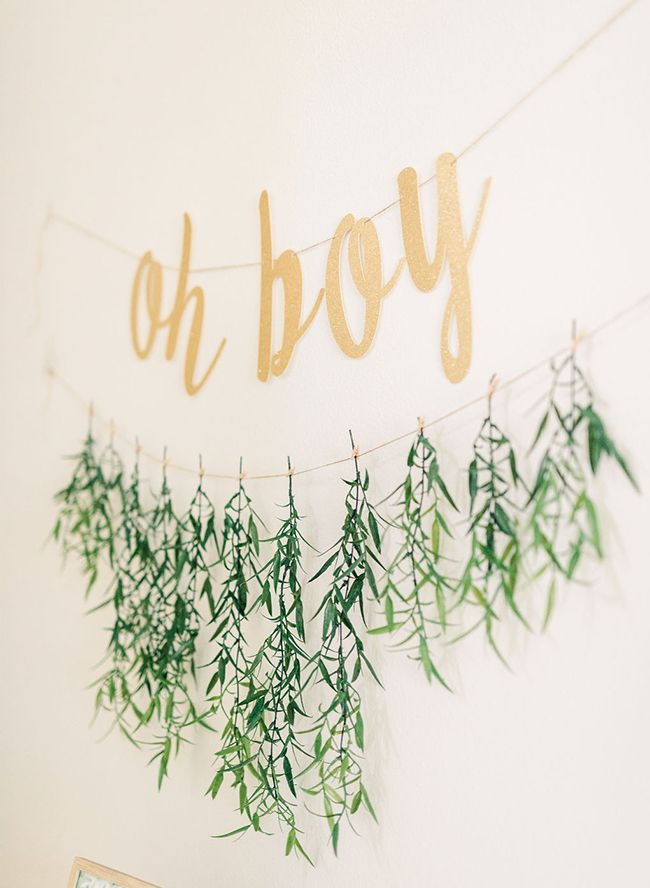 Gold Greenery Woodland Baby Shower Adventure Baby Shower Baby
