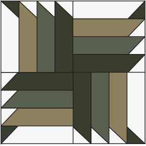 Buzzsaw Block: FREE Buzz Saw Quilt Block Pattern