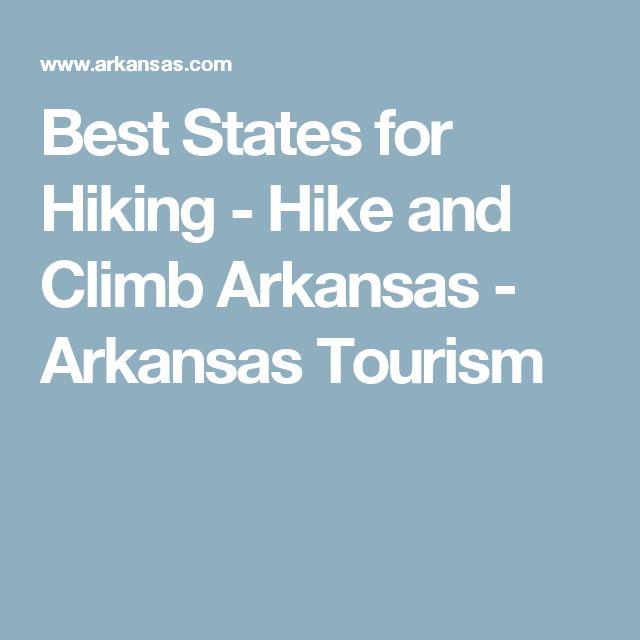 Best States for Hiking - Hike and Climb Arkansas - Arkansas Tourism